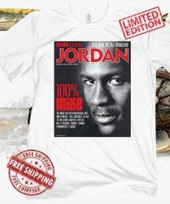 SLAM Allen Iverson & SLAM Presents JORDAN Posters Shirt