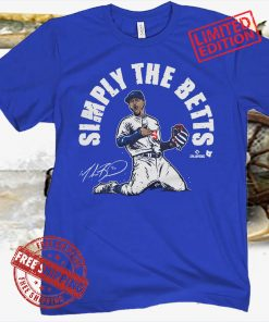 Simple The Betts Shirt, L.A. - MLBPA Officialy