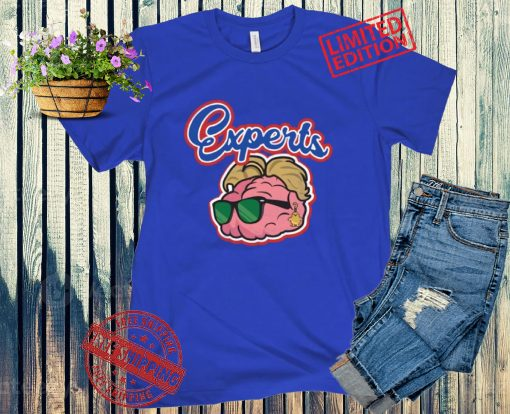 THE EXPERTS BLUE T-SHIRT