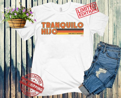 TRANQUILO HIJO SHIRT SAN DIEGO BASEBALL