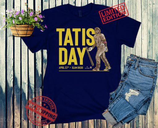 Tatis Day T-Shirt San Diego - MLBPA Licensed