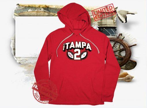The Tampa 2 T-Shirt TB Football Champions 2021