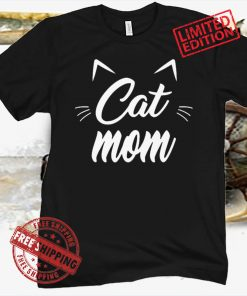 Vintage Best Cat Mom Ever Gift Love Cat 2021 Mother's day Premium Shirts