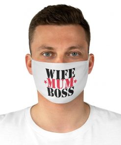 Wife Mum Boss Face Mask, Mothers Day Face Mask, Mom Face Mask, Mum Mask, Wife Face Mask, Mother Mask, Boy Mask