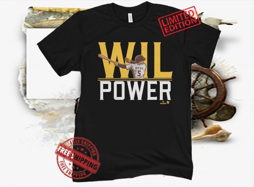 Wil Myers Wil Power Shirt, San Diego - MLBPA Licensed