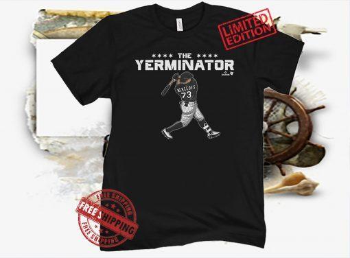 Yermin Mercedes Terminator T-Shirt MLBPA Officially Licensed