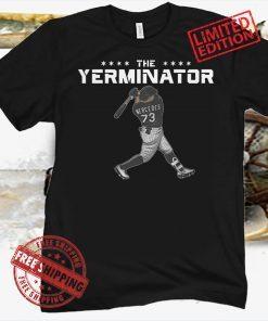 Yermin Mercedes Yerminator Tee Shirt - Chicago White Sox