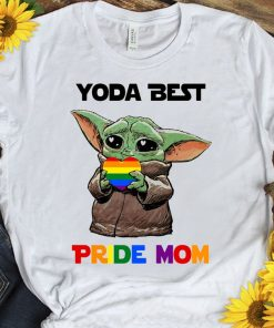2021 Yoda Best Pride Mom LGBT TShirt, Best Mom Ever, Mothers Day Gift, Mom LGBT, Gifts for Mom, Mothers Day Tee
