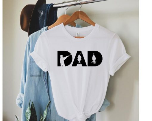 New Dad Fishing Shirt, 2021 Fathers Day Gift Fishing Gift Shirt