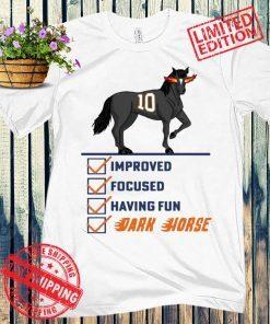 IMPROVED FOCUSED HAVING FAN DARK HORSE TEE SHIRT