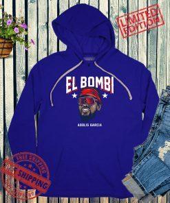Adolis García El Bombi T-Shirt, Texas - MLBPA Licensed