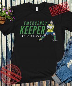 Alex Roldan Emergency Keeper T-Shirt Soccer Fan's
