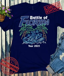 BATTLE OF FLORIDA TB TEE SHIRT