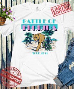 BATTLE OF FLORIDA TOUR 2021 GIFT T-SHIRT