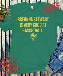 BREANNA STEWART WORLDWIDE MVP SHIRTS