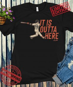 Buster Posey It Is Outta Here Baseball Shirts