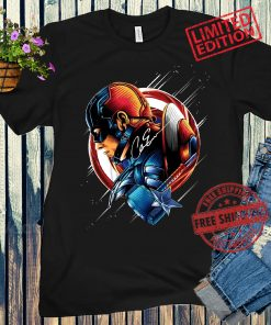 Captain America Signature Classic T-Shirt