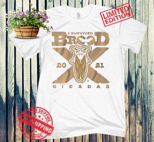 Cicadas Brood X The Great Eastern Brood T-Shirt