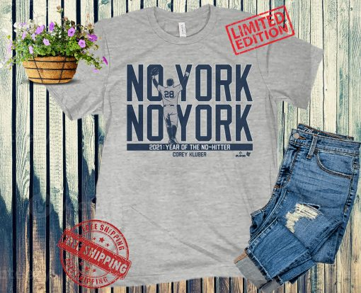 Corey Kluber No York No York T-Shirt Baseball