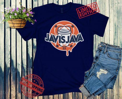 Cristian Javier Javi's Java Shirt Houston Baseball