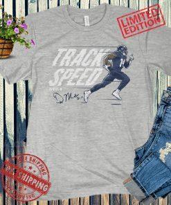 DK Metcalf Track Speed Shirt Officially Football