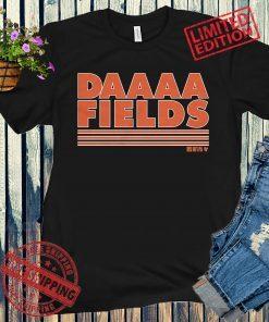Daaaa Fields Shirt + Unisex, Justin Fields - NFLPA Licens