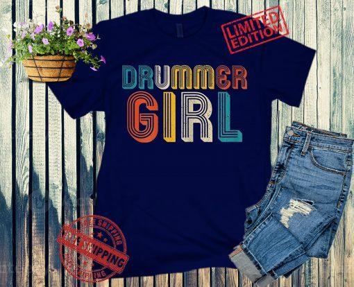 Drummer Girl Tee Shirt