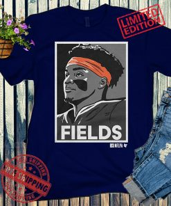 FIELDS Shirt + Classic, Justin Fields - NFLPA Licensed