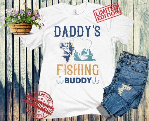 Fathers Day Gift, Fishing Shirt or Onesie, Matching Family Fishing Shirts Daddys Little Fishing Buddy Daddy Fishing Shirt Gift from Kids