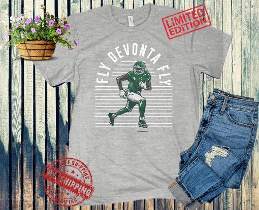Fly Devonta Fly T-Shirt, Devonta Smith - NFLPA Licensed