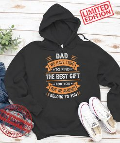 Funny Fathers Day T-Shirt Dad From Daughter Son Wife For Daddy T-Shirt