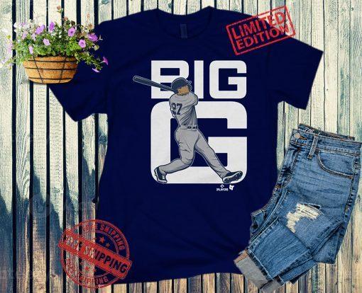 Giancarlo Stanton Big G Apparel T-Shirt, New York
