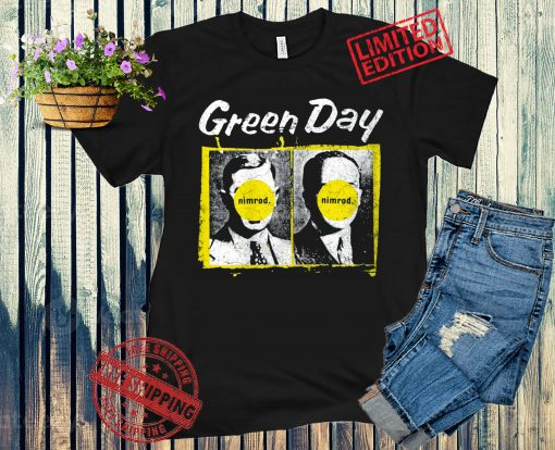 Green Day Nimrod Posters Shirt