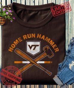 Home Run Hammer Shirt Virginia Tech Baseball