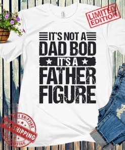 It's Not A Dad Bod It's A Father Figure Funny Fathers Day 2021 T-Shirts