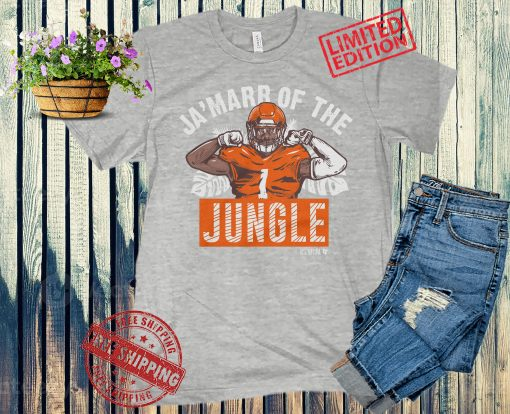 Ja'Marr Chase of the Jungle T-Shirt + Hoodie - NFLPA Licensed