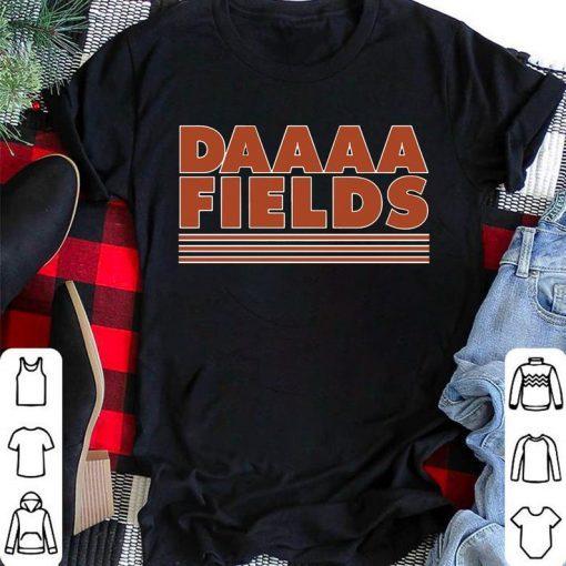 Justin Fields Shirt, QB Windy City Shirt, Football Gift, Daaaa Fields Tshirt