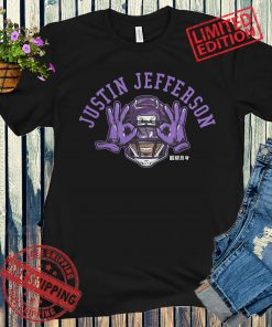 Justin Jefferson The Griddy Apparel T-Shirt - NFLPA Licensed