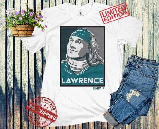 LAWRENCE T-Shirts, Trevor Lawrence - NFLPA Licensed