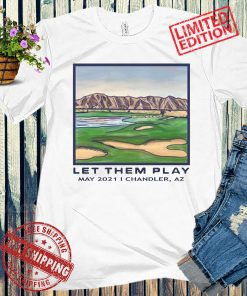 LET THEM PLAY POCKET 2021 TEE SHIRT