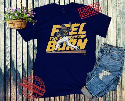 Milwaukee Feel the Burn Baseball T-Shirts