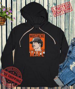 Mustache Mike Yastrzemski T-Shirt + Hoodie - MLBPA Licensed