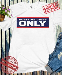 POSITIVE VIBES ONLY PVO CHI TEE SHIRT