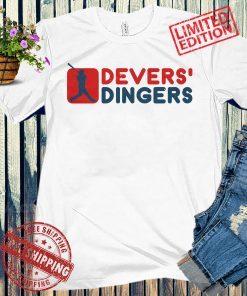 Rafael Devers' Dingers Apparel T-Shirt, Boston Baseball