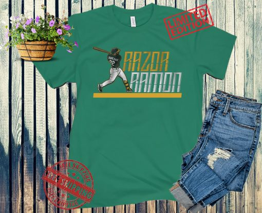 Razor Ramon Laureano Shirt Oakland Baseball