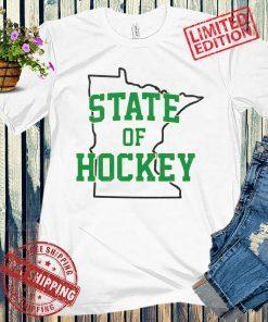 STATE OF HOCKEY TEE SHIRT