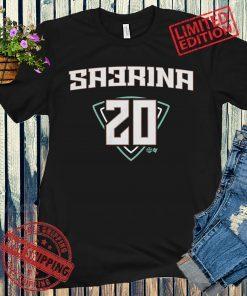 Sabrina Ionescu SA3RINA NY T-Shirt