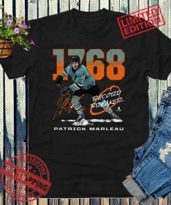 San Jose Hockey Patrick Marleau 1768 Shirt