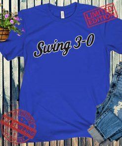 Swing 3-0 Chicago Baseball T-Shirts