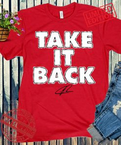 Take It Back Shirt, Chris Jones - NFLPA Licensed